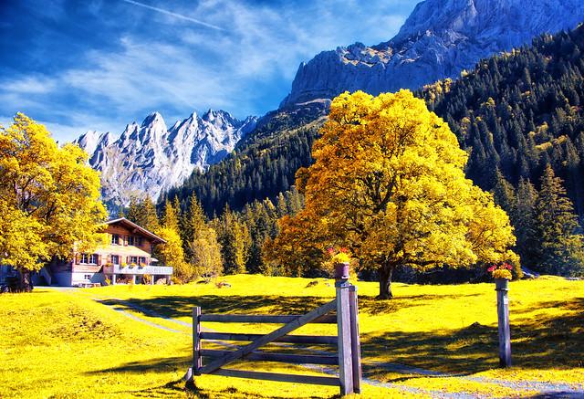 peisaje montane superbe Elvetia poze frumoase munte Muntii Alpi imagini minunate toamna vara iarna cabane zapada calatorii cadre secvente Flickr Elvetia Autumn-Schwarzwaldalp
