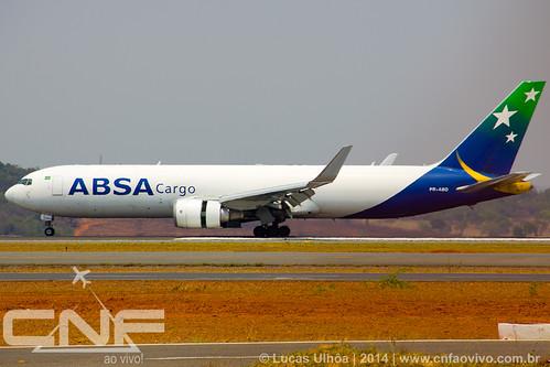Boeing 767-300F ABSA Cargo PR-ABD