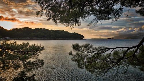 sunset silhouette croatia cavtat blindphotographers dubrovnikneretvacounty