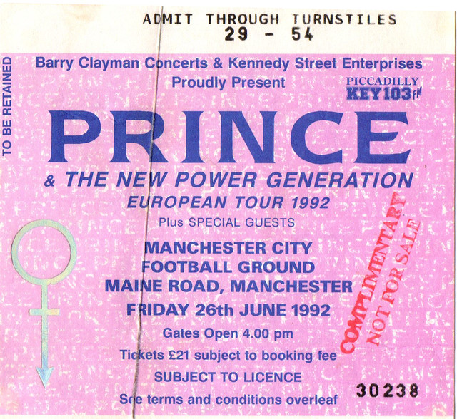 Prince & The New Power Generation - Manchester 1992