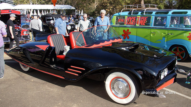 1956 Oldsmobile BB Convertible 1963 Batmobile tour car