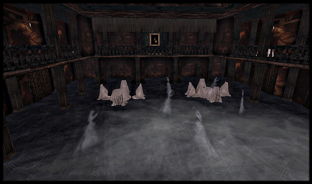 Even the ghosts are dancing