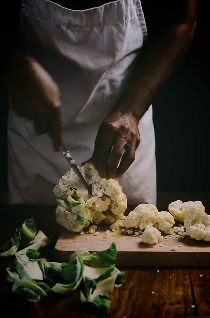 cauliflower parmesan pakoras | A Brown Table