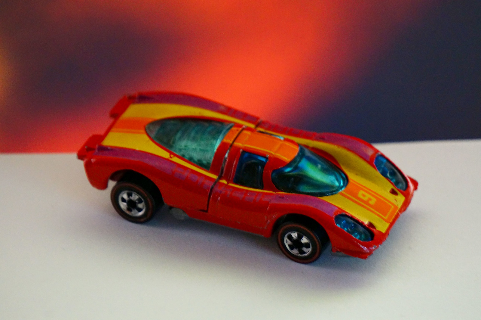 Hot Wheels Redline Red Porsche 917 Flying Colors
