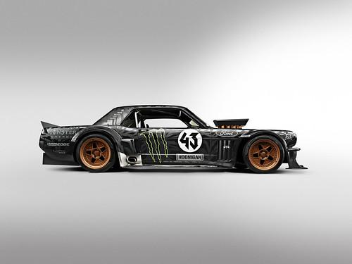 Ford Mustang de 1965 Gymkhana Ken Block Seven