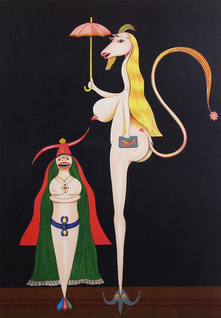 FRIEDRICH SCHRÖDER-SONNENSTERN - Untitled, 1969