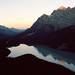 Sunrise at Peyto Lake, AB by Elliott Kramer