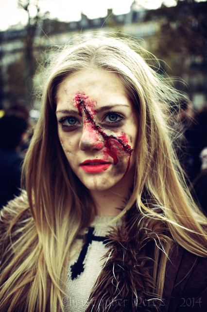 Zombie Walk ~ Paris, France ~ 2014