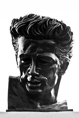 THE BUST OF JAMES DEAN