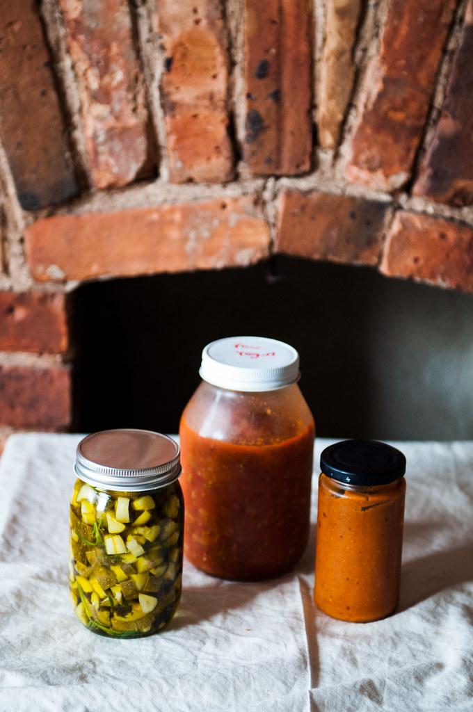 Tomato and Zucchini preserves