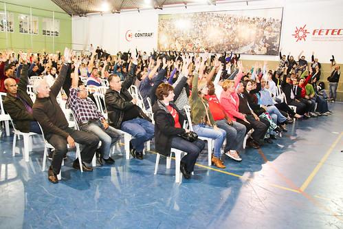 Assembleia de deflagração de greve