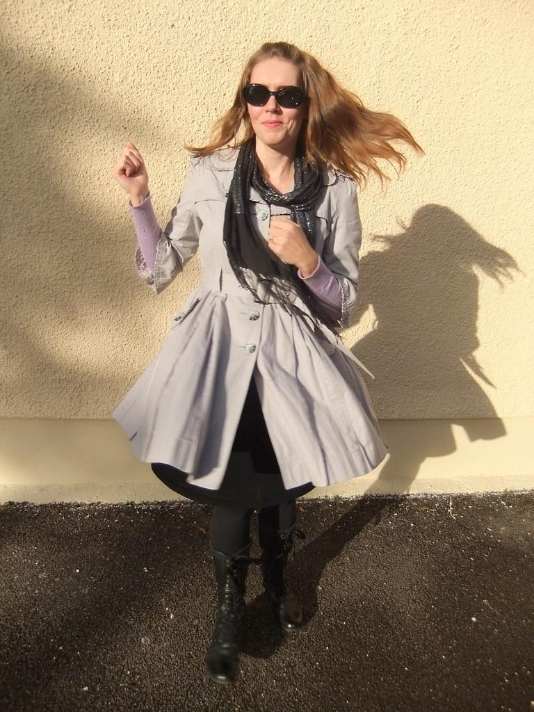 3/4 sleeve coat
