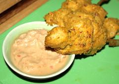 Chicken Satay with Peanut Dip