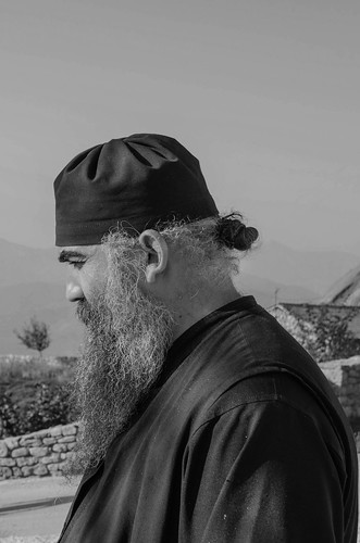 portrait blackandwhite church monochrome nikon monk macedonia orthodox d5100