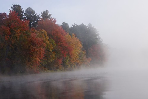 Autumn on Naticook Lake