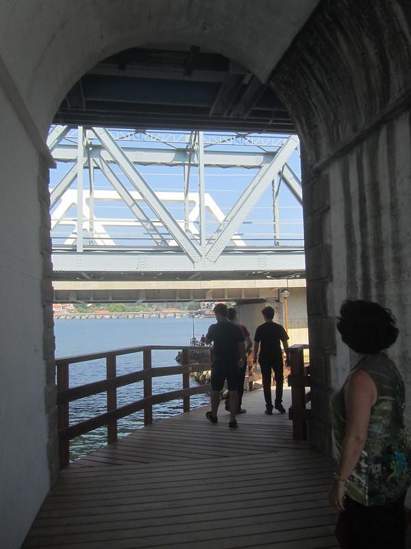 Bajo los muchos puentes
