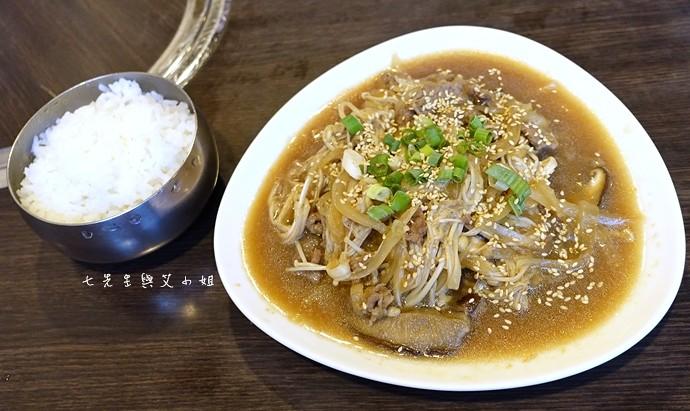 4 江原道韓國料理牛五花燒肉