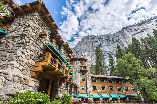 The Ahwahnee After Breakfast