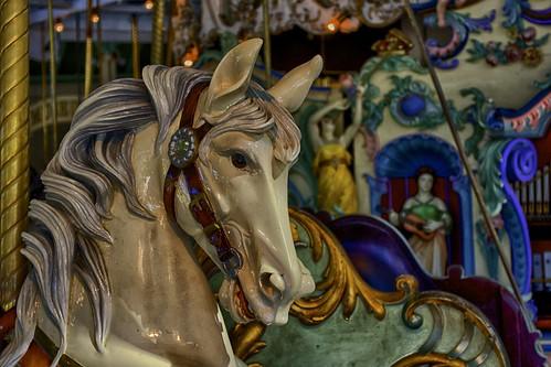 Crescent Park Carousel by Keith Bragg, via I {heart} Rhody
