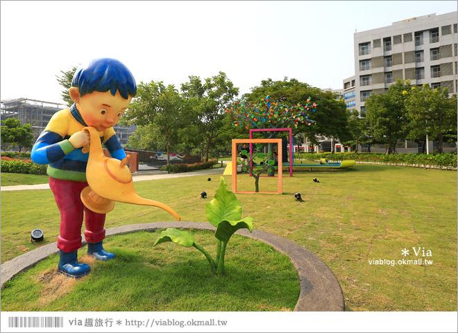 【南科幾米】台南|台積電南科幾米裝置藝術小公園~願望盛開‧許諾之地6