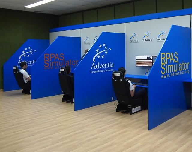 Centro de simuladores de RPAS