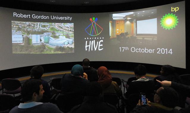 BP HIVE Visit 17th Oct 2014