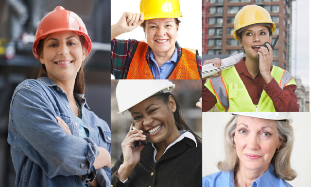 A number of women have been recognised for their work in the construction industry recently