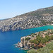 Greece, Macedonia, Aegean Sea, Thasos island, bay view from the monastery of Archangelos by Macedonia Travel & News