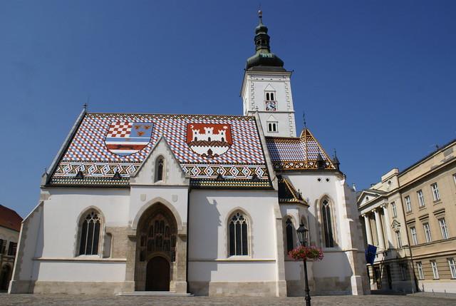 Zagreb - Iglesia de San Marcos