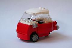 Brick Models - 1959 BMW Isetta 300 front