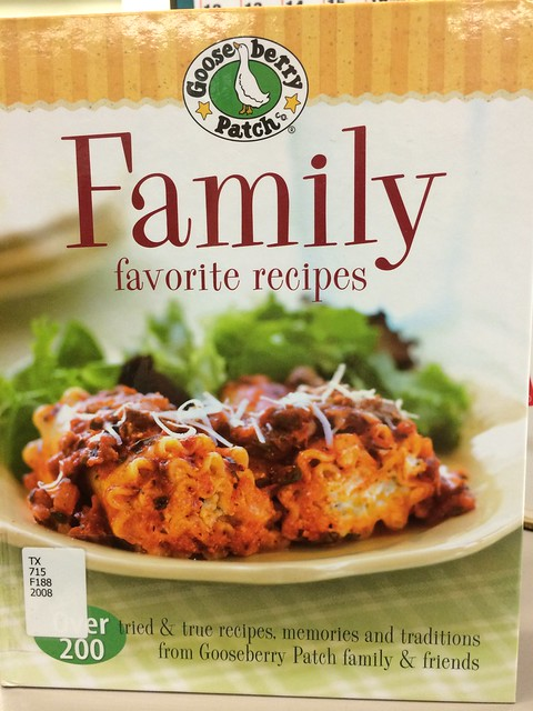 Family Favorite Recipes by Gooseberry Patch