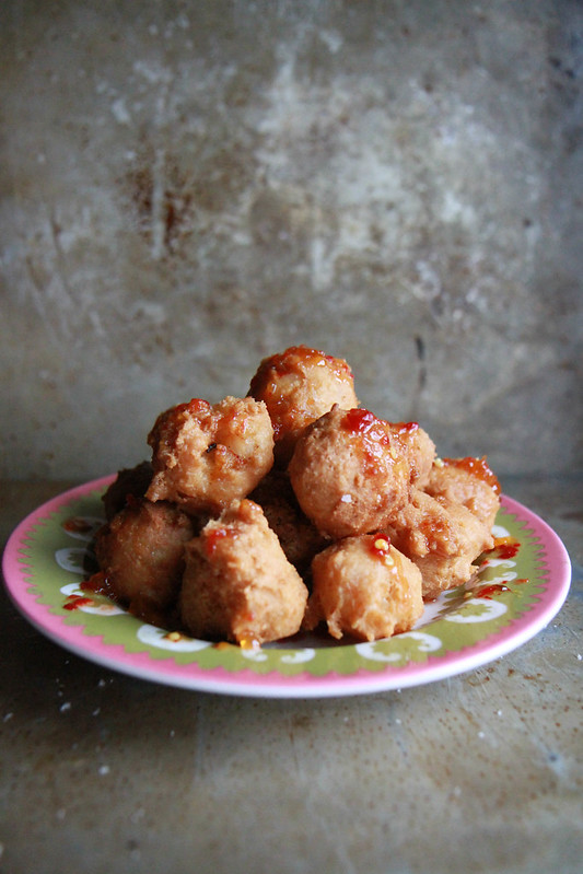Shrimp Coconut Beignets