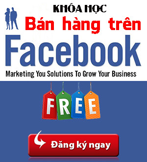 Khóa học kinh doanh trên Facebook
