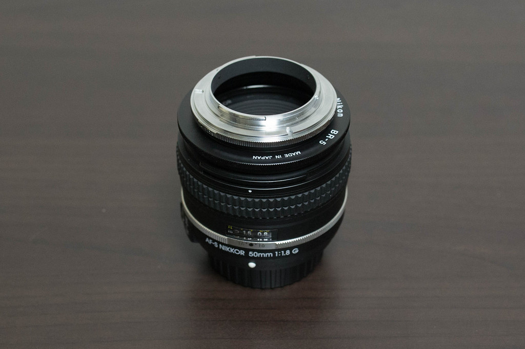 AF-S NIKKOR 50mm f/1.8G + SUR + BR-5 + BR-2A