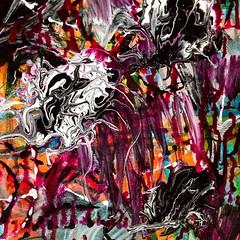 Second canvas, 3rd layer, section 1. #bloomtrue #art