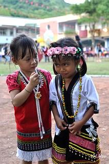 噶瑪蘭小女孩,圖片作者:Yunghui,圖片來源:https://www.flickr.com/photos/hala2009/9631487462,本圖符合CC授權使用。