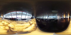 The longest attended lounge bar worldwide at SWISS Lounge D Airport Zurich in 360 degrees | #TBEX