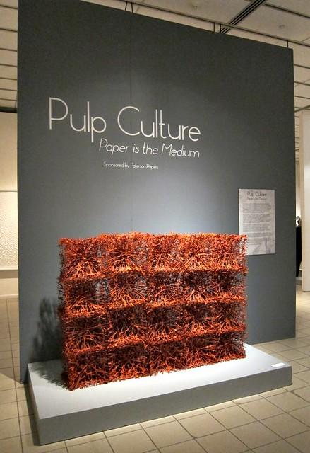 Pulp Culture: Paper is the Medium Exhibit
