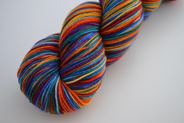 Brightness & Contrast yarn from indigodragonfly