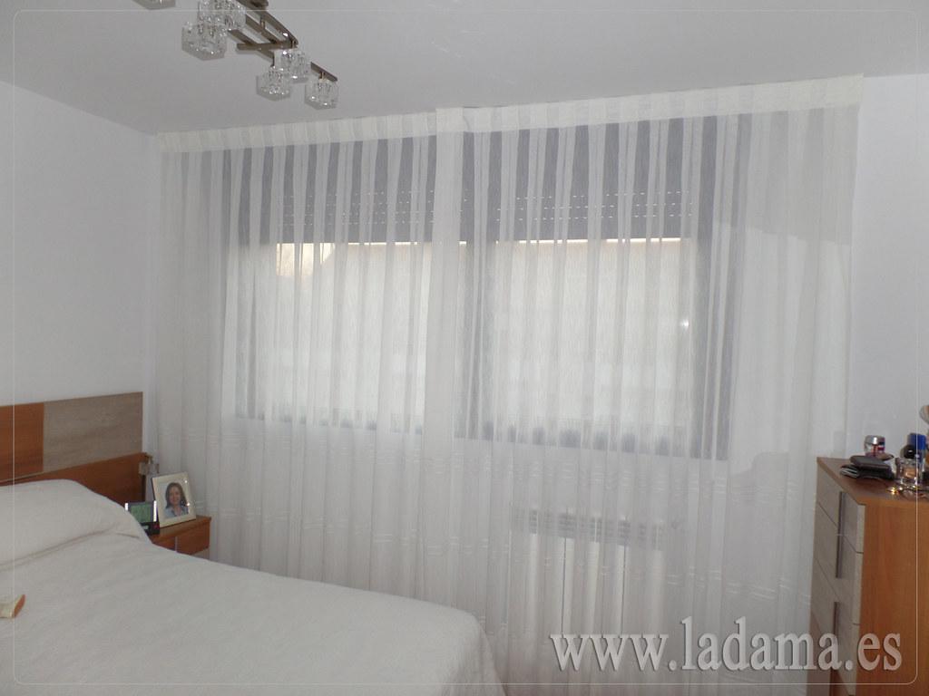 Fotograf as de cortinas cl sicas la dama decoraci n - Cortinas con volantes ...