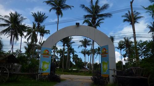 Koh Samui Funny day entrance