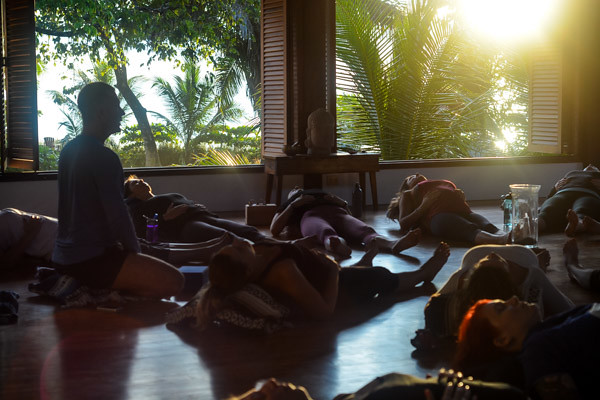 Yoga Teacher Training in Costa Rica Morning Meditation