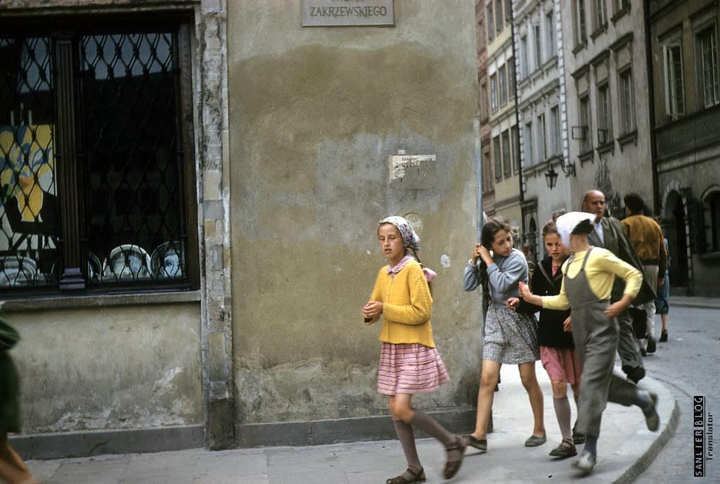 1958年华沙重建10