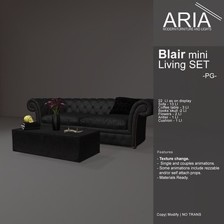 [ARIA] Blair mini Living SET (PG) at Uber!