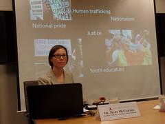 Dr. Mary M. McCarthy Visiting Fellow, East-West Center in Washington Associate Professor, Drake University
