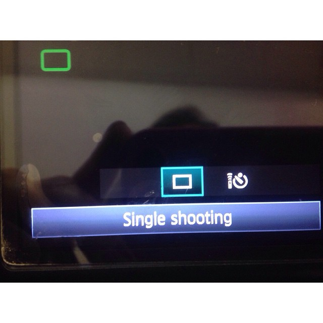 Camera people help!!  My canon 60D display menu looks like this and I can't get the entire display to show. #freakingout #nothappy #imightstartcrying