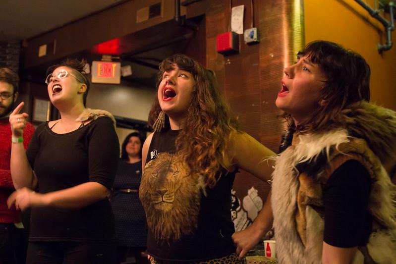 Churls at the Bourbon Theatre   10-8-2014