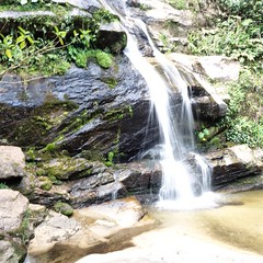 #Rio day 5 - waterfalls in the largest urban national park on earth.