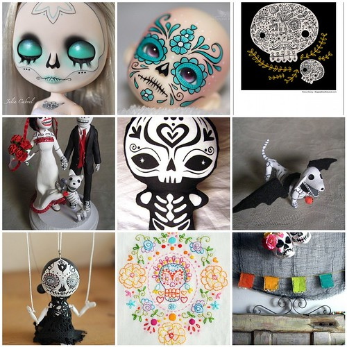 Friday Funspiration: calaveras