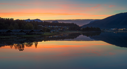 camping sunset norway åndalsnes